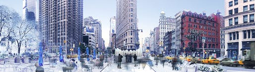"""Flatiron Reflection"" by Future Expansion."