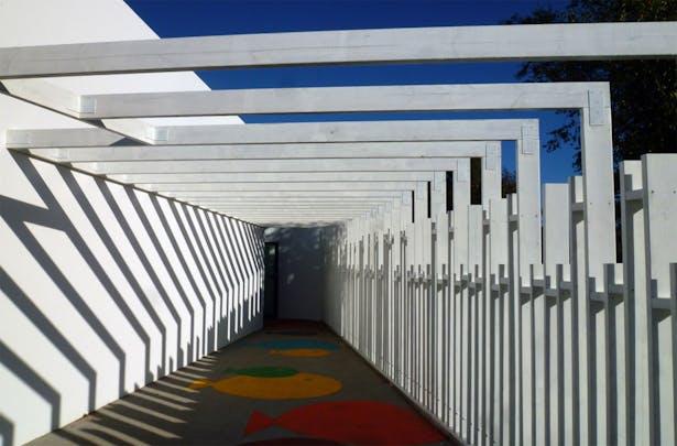 Nursery School in Curtis, A Coruña (Spain) NAOS ARCHITECTURE