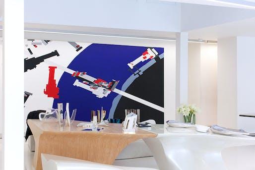 """""""Where Architects Live"""" by Francesca Molteni: Zaha Hadid."""