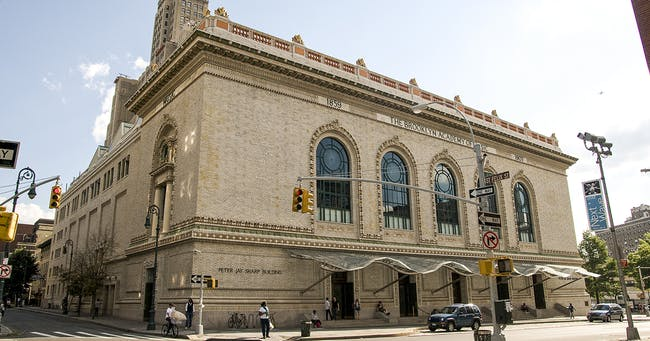 The Brooklyn Academy of Music. Image via pratt.edu
