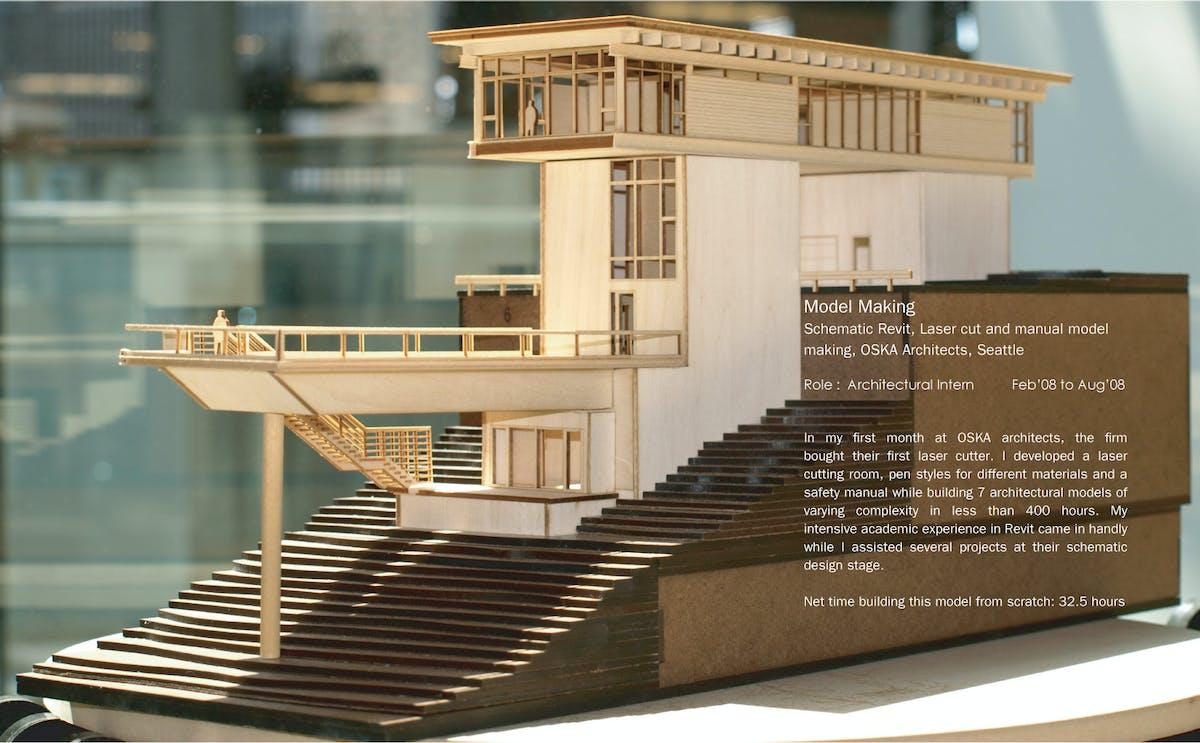 Model Making Varun Thautam Archinect