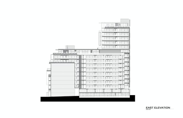 Six50 King East Elevation