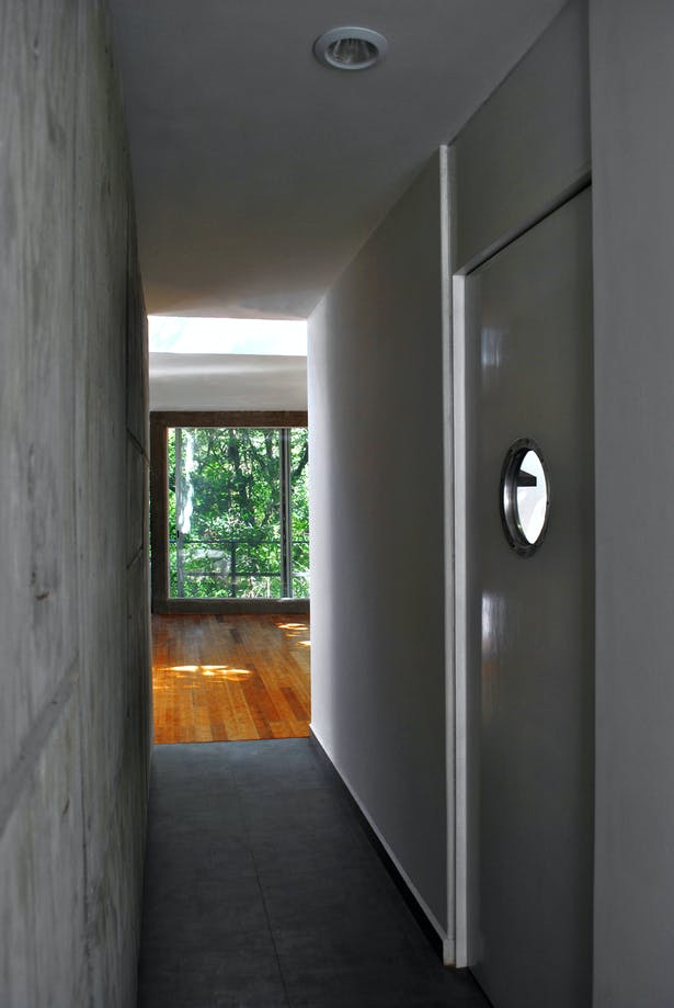 Corridor - the Dining and Living room can be seen in the background