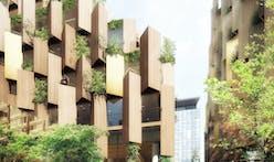 "Kengo Kuma designs an ""eco-luxury hotel"" for Paris-Rive Gauche"