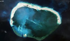 New satellite images show progress in China's island-building project