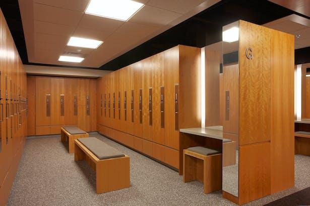 Oakdale Locker Room