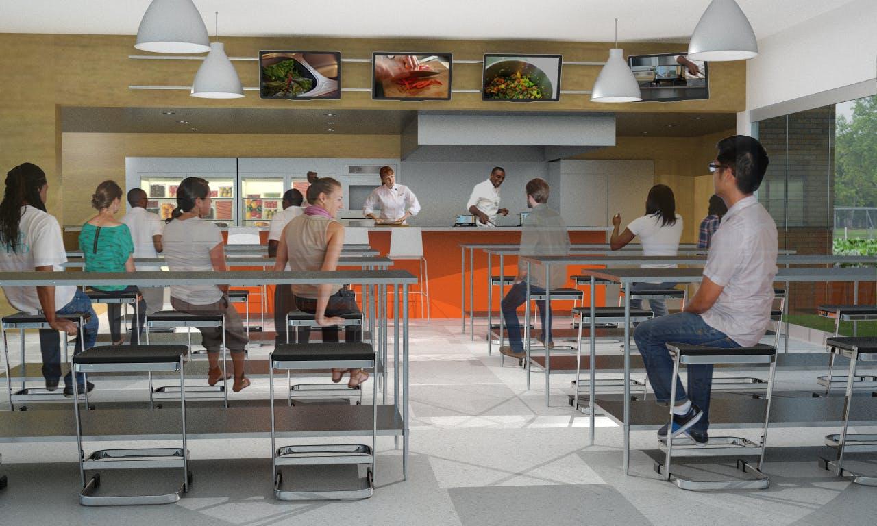 Classroom Kitchen Design ~ Lincoln high school entrepreneurial culinary arts program