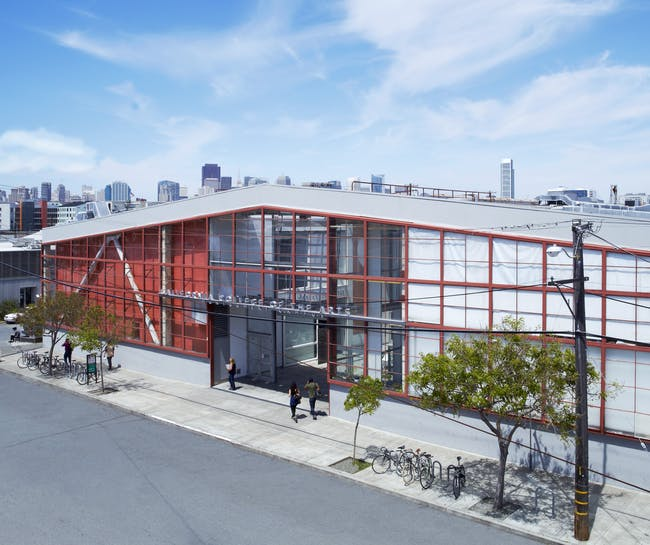 A building on the current CCA campus in San Francisco. Image via CCA