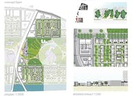 campus daimler project, city and landscape
