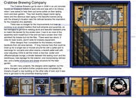 Crabtree Brewing Company Screen Door
