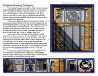 Crabtree Brewing Company Screen Door