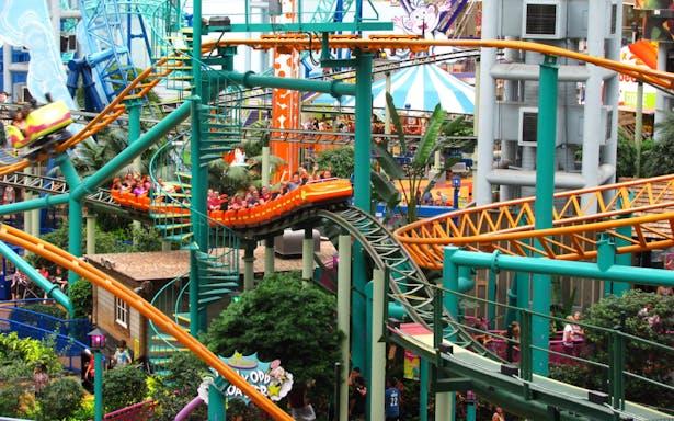Nickelodeon themed Amusement Park