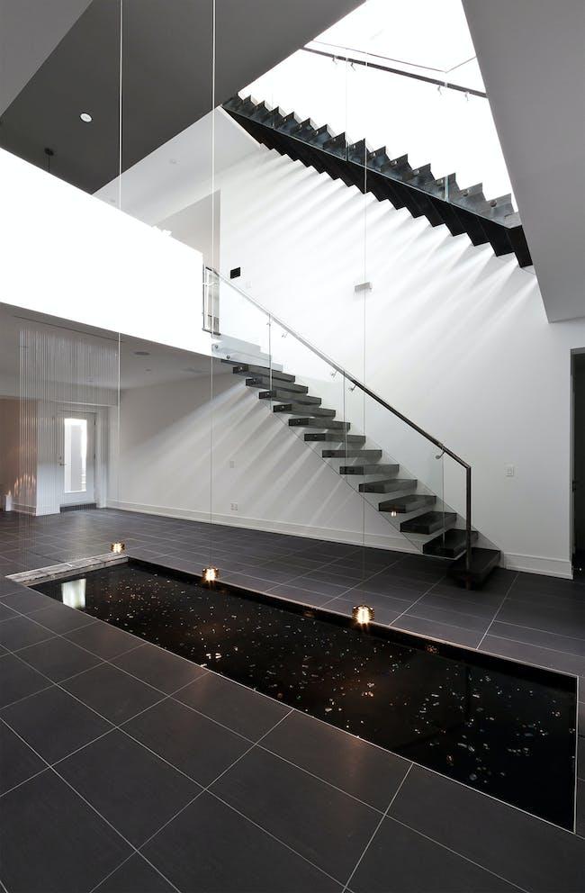 5/6 House in Toronto, Canada by rzlbd; Photo: borXu Design