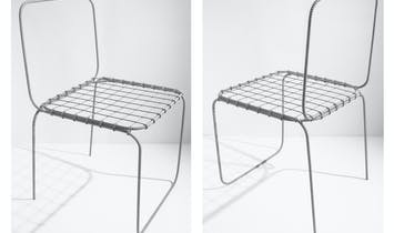 "Leftover inspiration: the construction aesthetic of ""Chair 6.0"""