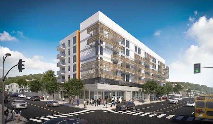 Johnson Fain, proposed Chinatown housing development. Image: Johnson Fain