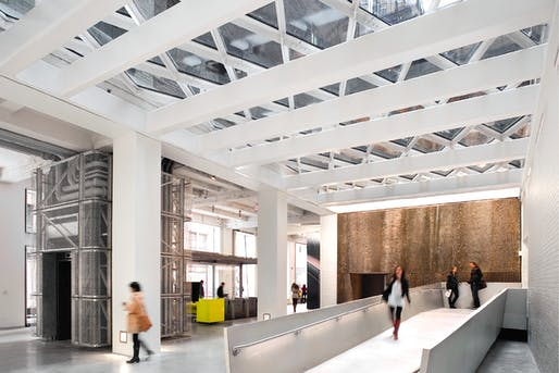 Sheila C. Johnson Design Center by Rice+Lipka Architects.