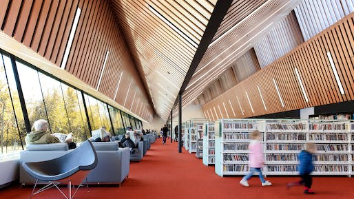 Capilano Library. Photo: James Dow + Patkau Architects.