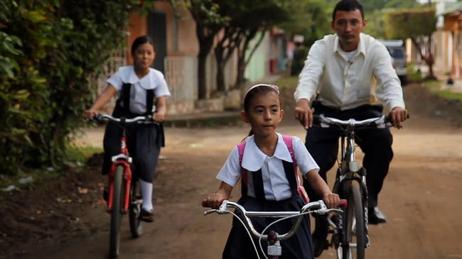 Pedals for Progress distributes rehab'ed bikes to low-income communities worldwide. Credit: Pedals for Progress via World Cycling Atlas