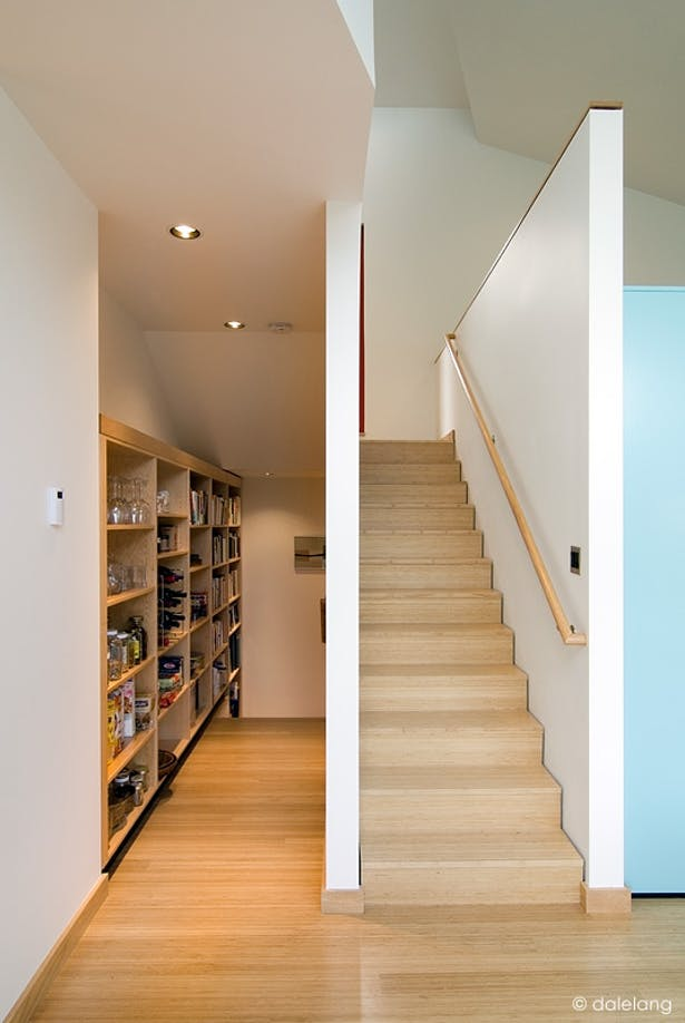 Stairs and Pantry