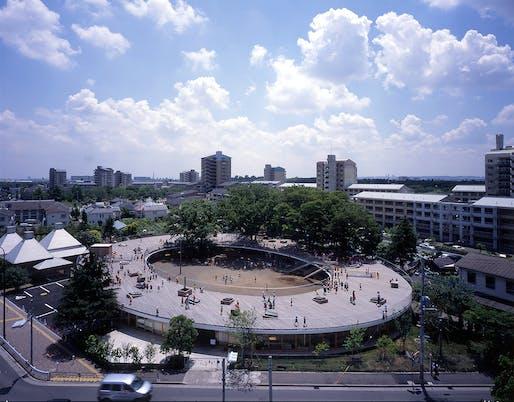 Fuji Kindergarten by Tezuka Architects. Photo: Katsuhisa Kida.
