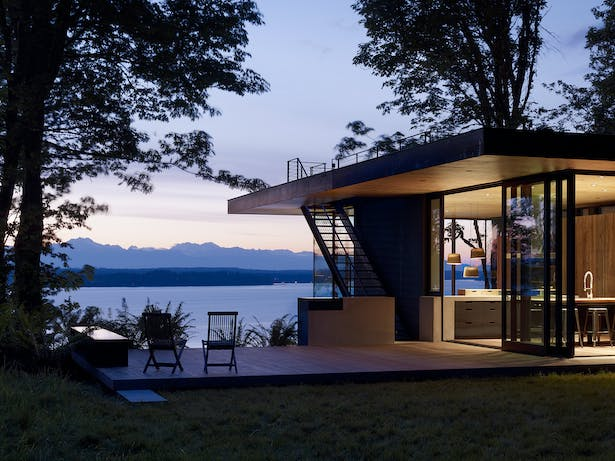Contemporary Best Small Modern House Designs: Works Architecture + Design