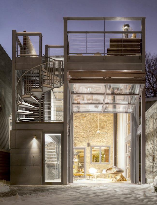 Escape Pod - Wicker Park Residence, 2-Flat Conversion + Addition in Chicago, IL by dSPACE Studio