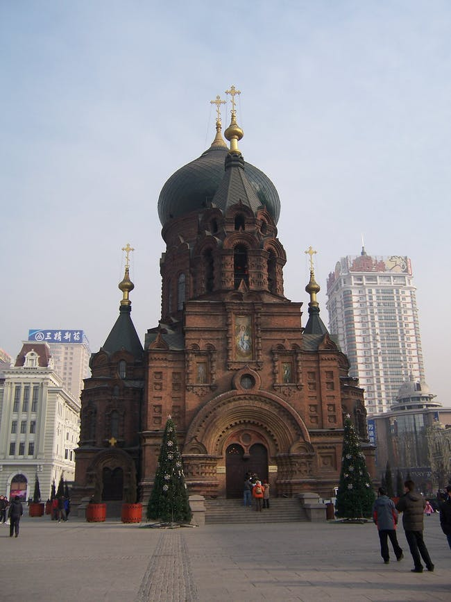 Sofia Cathedral in Harbin (via Wikipedia)
