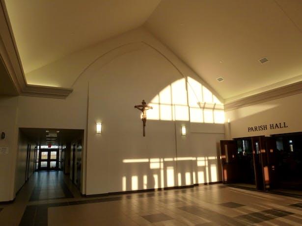 Parish Center Lobby