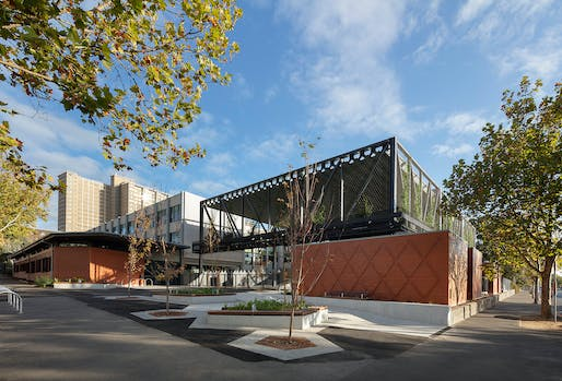 National COLORBOND Award for Steel Architecture: Carlton Learning Precinct COLA, Law Architects, VIC. Photo: Dianna Snape.