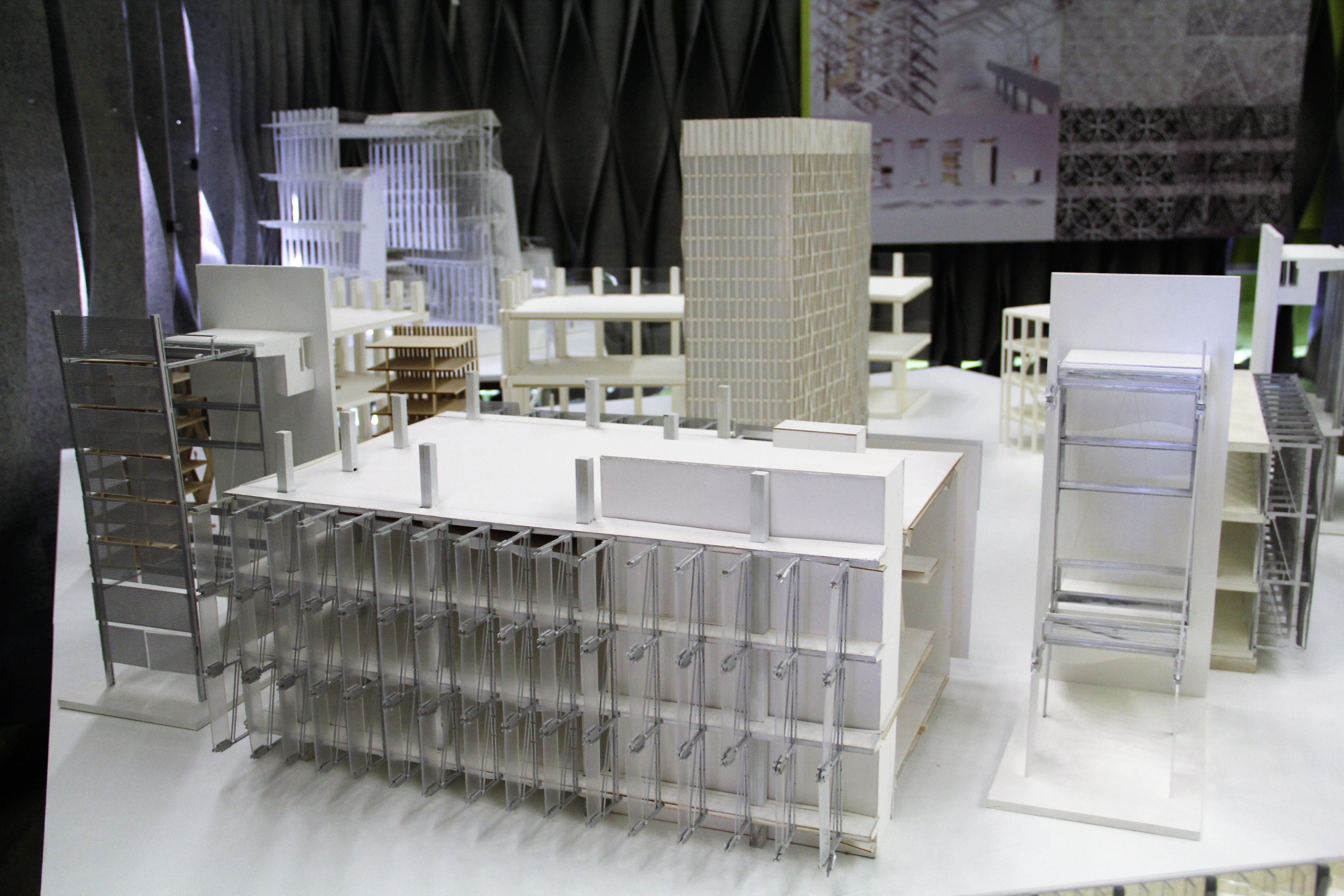Work By Students Echo Niu, Daniel Greteman, Tom Zhang For Techcore Design  Studio Led
