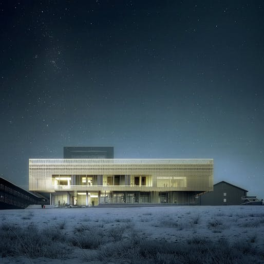 Psychiatric Clinic, Nuuk by White Arkitekter AB, DIFK Dipl.-Ing. Florian Kosche, ÅF Engineering AS © White Arkitekter and Luxigon