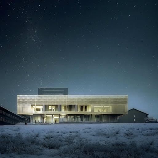 Psychiatric Clinic, Nuuk by White Arkitekter AB, DIFK Dipl.-Ing. Florian Kosche, ÅF Engineering AS © White Arkitekter and Luxigon