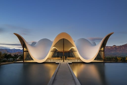 Bosjes Chapel by Steyn Studio. Image: Adam Letch