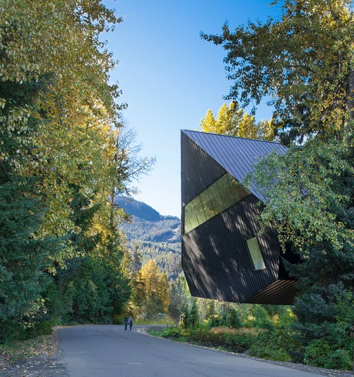 Audain Art Museum; Whistler, British Columbia, Canada by Patkau Architects Inc. Photo: James Dow / Patkau Architects