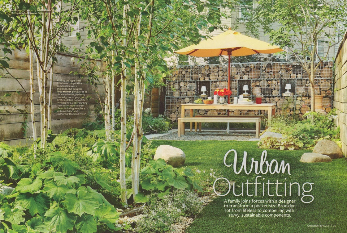 Brooklyn Garden Design In Better Homes And Gardens