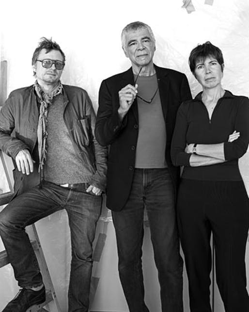 "Soon to be ""California Gurls"" Charles Renfro, Ricardo Scofidio and Elizabeth Diller ©Diller Scofidio + Renfro"