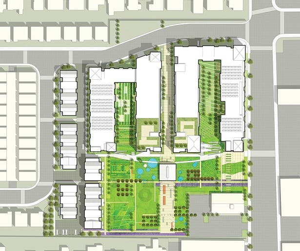 Site plan (RFP Phase)