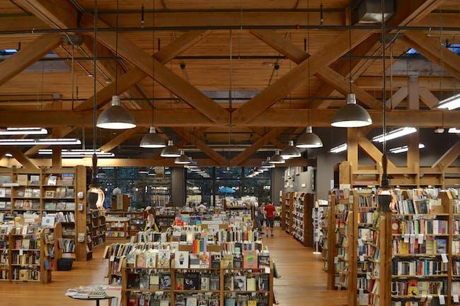 Elliott Bay Bookstore. Photo courtesy of Paul Michael Davis.