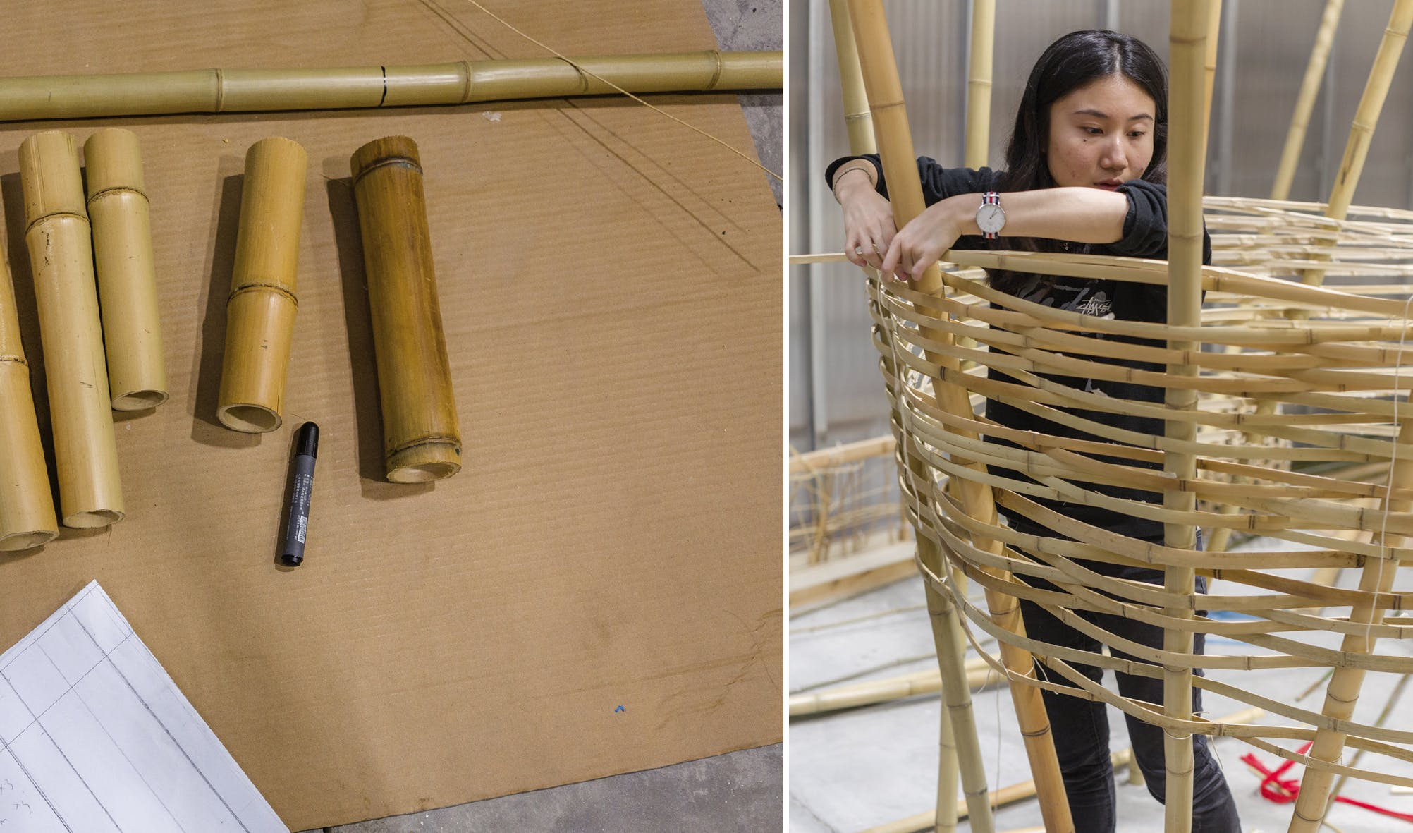 XJTLU Department of Architecture, Bamboo Workshop, 2016.