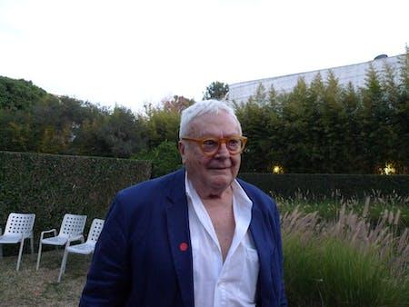 José Oubrerie. Photo credit: Orhan Ayyüce.