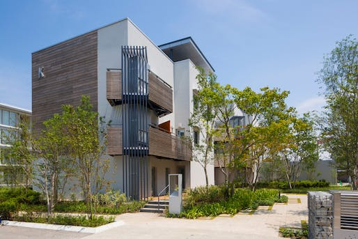Outstanding Multi-Family Project: PassiveTown Phase 3​, Building K, Kurobe, Japan. Photo courtesy of USGBC LEED Homes Awards.