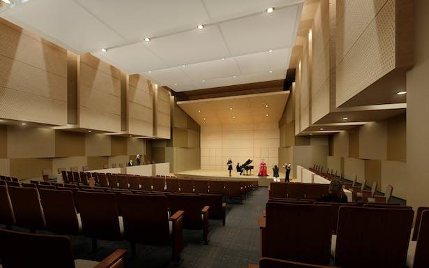 300 seat Recital Hall