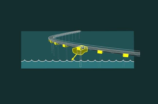 Bridge Diagram - Opening. Image: OCEAN+CITY