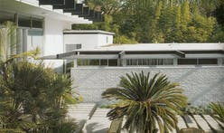 Oscar Niemeyer's LA house for Joseph and Anne Strick