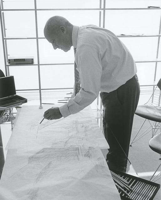 Norman Foster © Rudi Meisel. Image courtesy of Arquitectura Viva