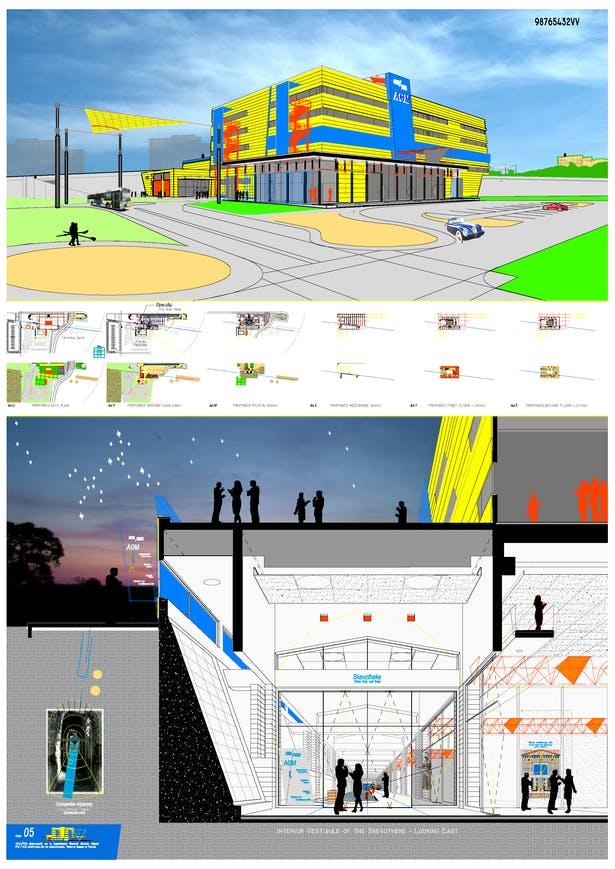 ATM - Interior and Exterior Renderings