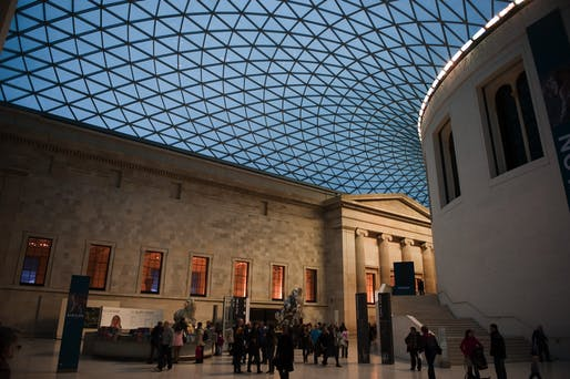 The Great Court in the British Museum by Foster + Partners. Photo: Camille King/Flickr.