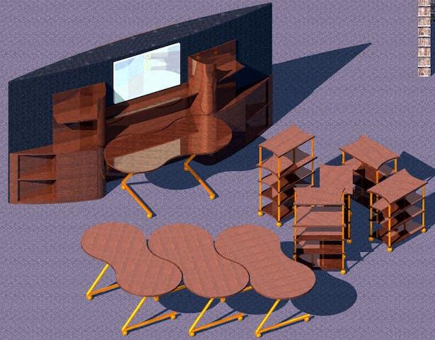 Final grad school design studio was sponsored by Herman Miller