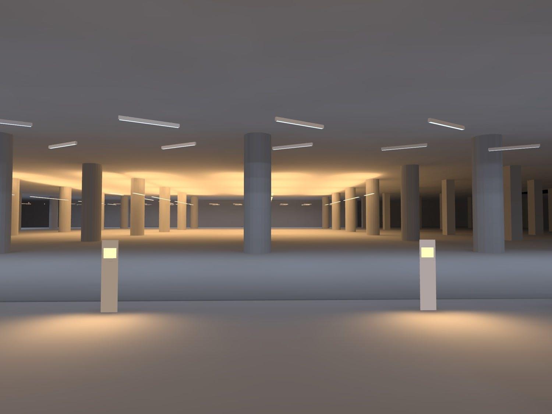 Basement Lighting Design lighting design for leed campus | pon kumaresh | archinect