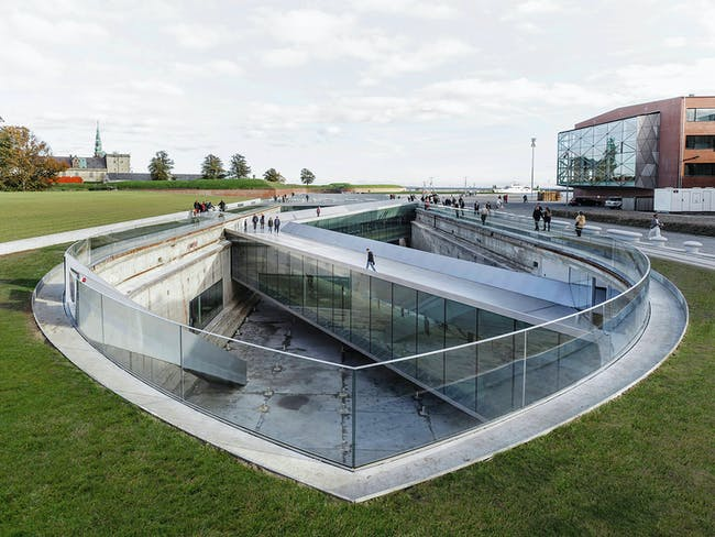 Danish Maritime Museum in Helsingør, Denmark by BIG - Bjarke Ingels Group. Photo © Rasmus Hjortshoj